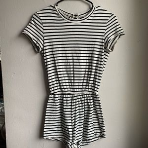 American Apparel Striped Romper